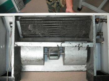 中央空调清洗:中央空调风机盘管清洗